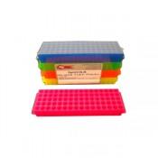 Rack para microtubos com 81 poços coloridos  P4000B